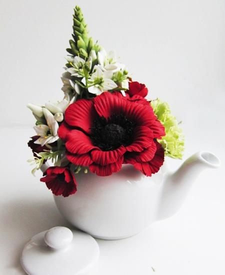 30 Floral Table Decorations And Centerpieces Table Decor With Red Poppies