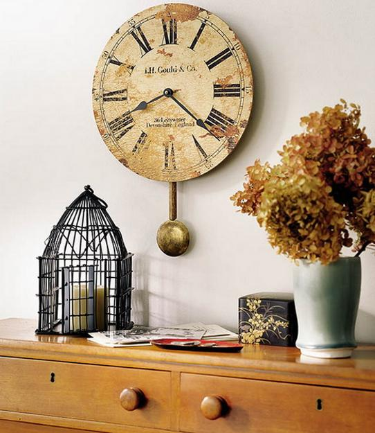 Whether you prefer barely there hues or are ready to amp up the drama in your bedroom, we have pai. 25 Ideas for Modern Interior Decorating with Large Wall Clocks