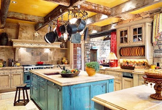 Interior Design Yellow Kitchen