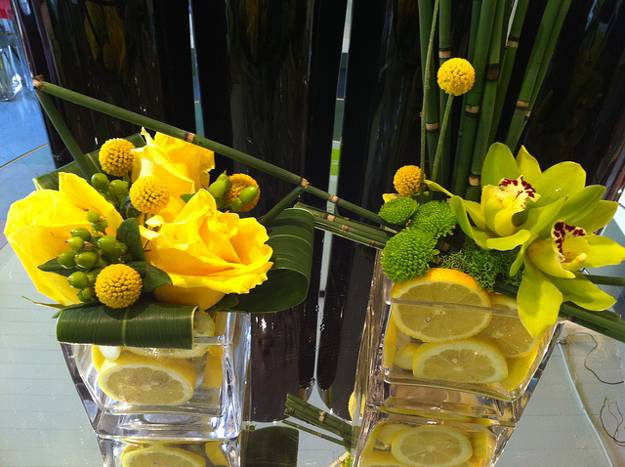22 Modern Ideas For Table Decoration With Lemons And