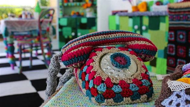 Colorful Crochet Kitchen Decor Unique Craft Ideas For