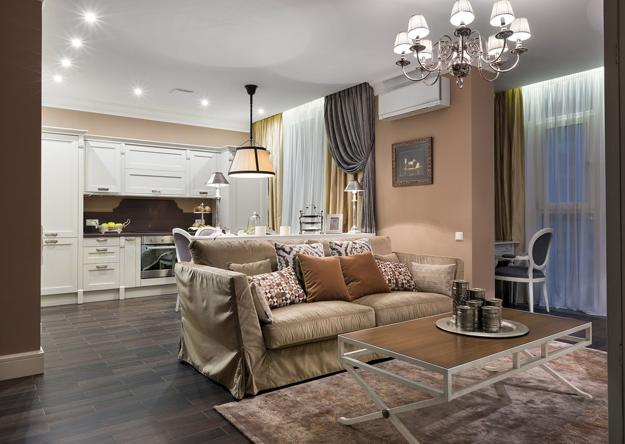 Classic Style Adding Chic Look To Cozy Apartment Interior