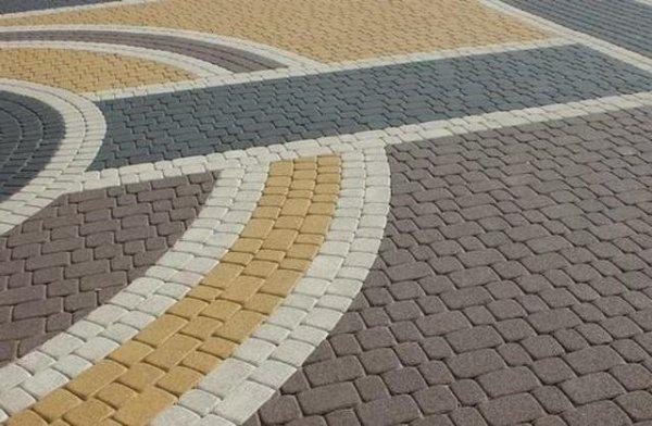 Тротуарной Плитки Старый Город Фото