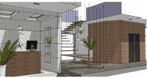 recepcion y acceso a plantas por escalera
