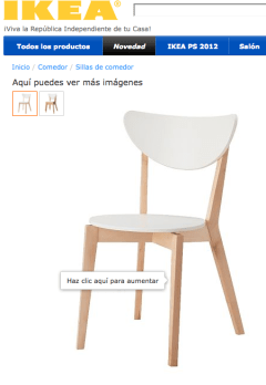a 30€ la silla es fácil amueblar un aula