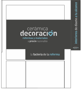 proyecto escaparte para tienda de reformas - decoraCCion - 104