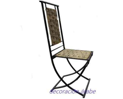 silla forja marroquí