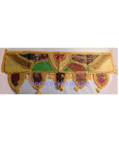tapiz hindú de puerta