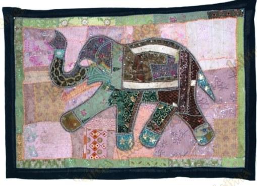 tapiz hindú elefantes