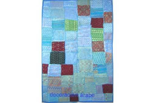 tapiz pared India azul