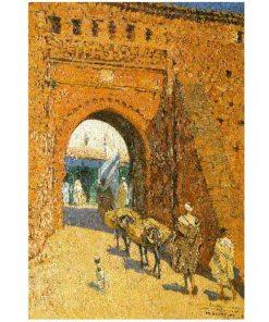 pintura de marruecos , Mariano Bertuchi