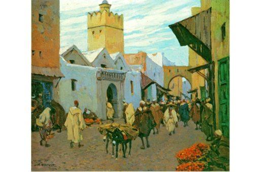 pintura de Marruecos, tetuán