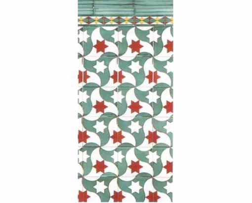 azulejo nazarí Baños