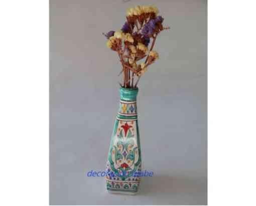 botella cerámica arabe andaluza