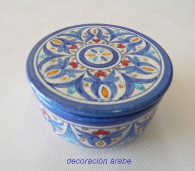 cerámica andaluza árabe cajitas