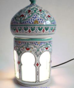 lampara cerámica andaluza árabe