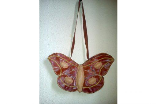 bolso de mujer artesano cuero