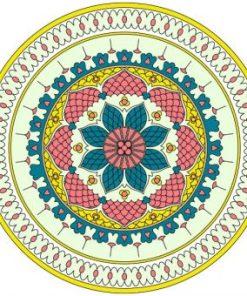 dibujo floral azulejos musulmanes
