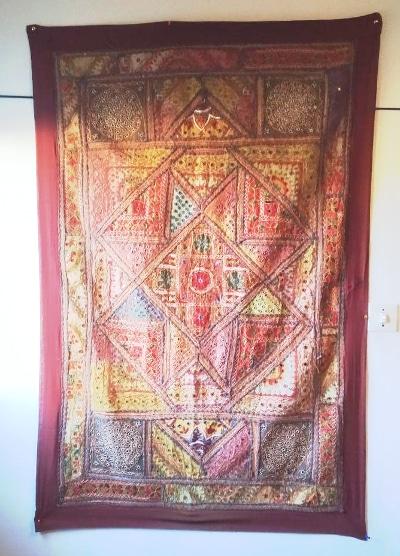 tapiz hindú patchwork grnade