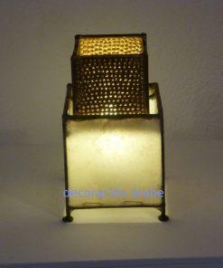 Lámpara marroquí yang, color piel