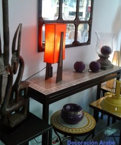 lámpara mesa estilo nórdico