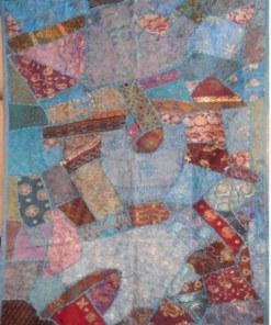 tapiz pared hindú patcwork