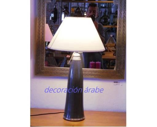 lámpara marroqui mesa morada