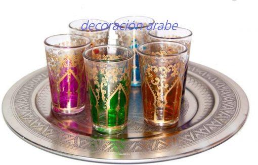 vasos marroquies para el té