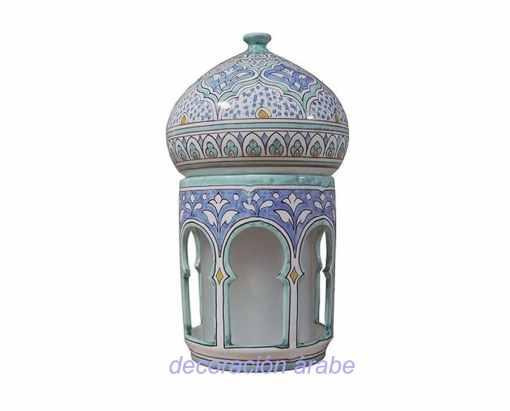 lámpara cerámica andaluza árabe