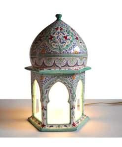 lámpara cerámica andaluza andalusí