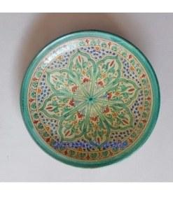 plato cerámica andaluza árabe