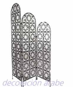 biombo hierro forjado marroquí