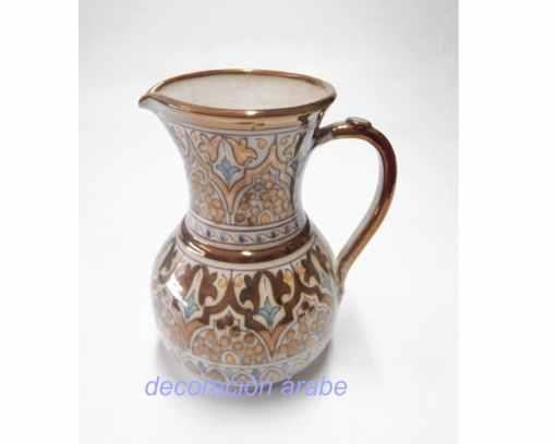 jarra cerámica nazarí andaluza