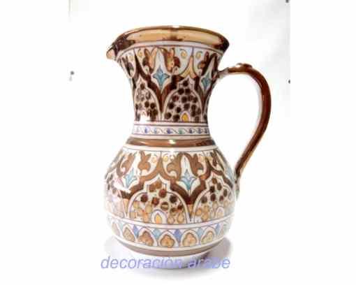 jarra cerámica nazari andaluza