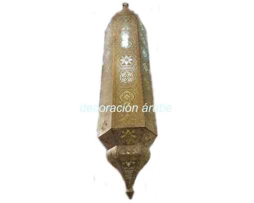 lámpara hindú techo