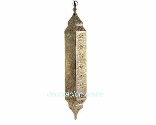 lampara techo India Minarete