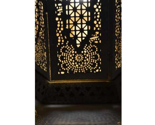 lámpara india detalle