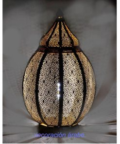 lámpara india mesa Calcata