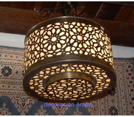 lámpara árabe bronce Granada