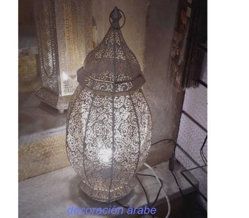 lámpara sobremesa India