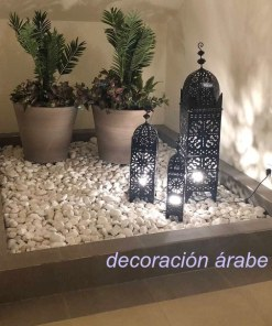 farol marroquí jardin