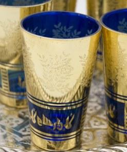 juego vasos marroquíes