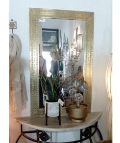 espejo ldorado marroquí
