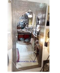 espejo marroquí labrado