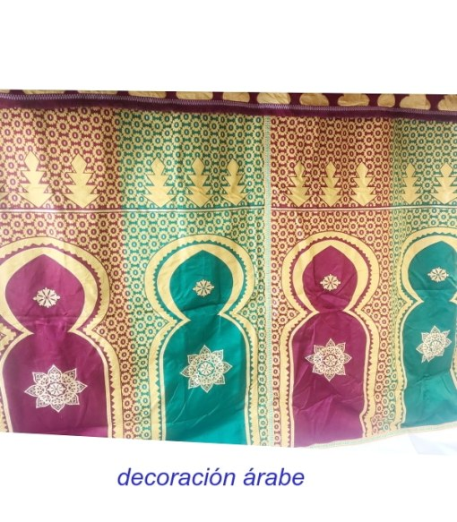 tela marroquí decorativa