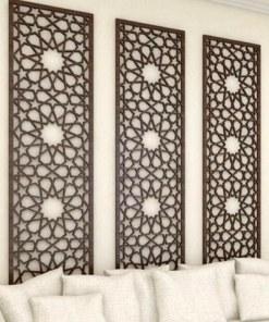 celosía geometrica salón dormitorio