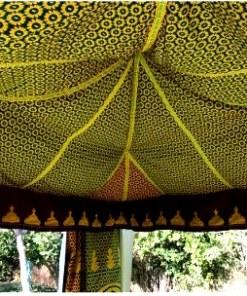 jaima marroquí techo