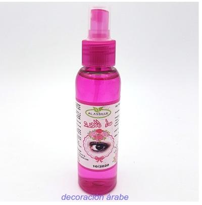 agua de rosas pulverizador