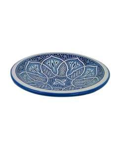plato cerámica marroquí fez