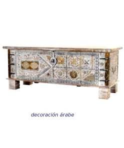 arcon-de-madera-India-vintage